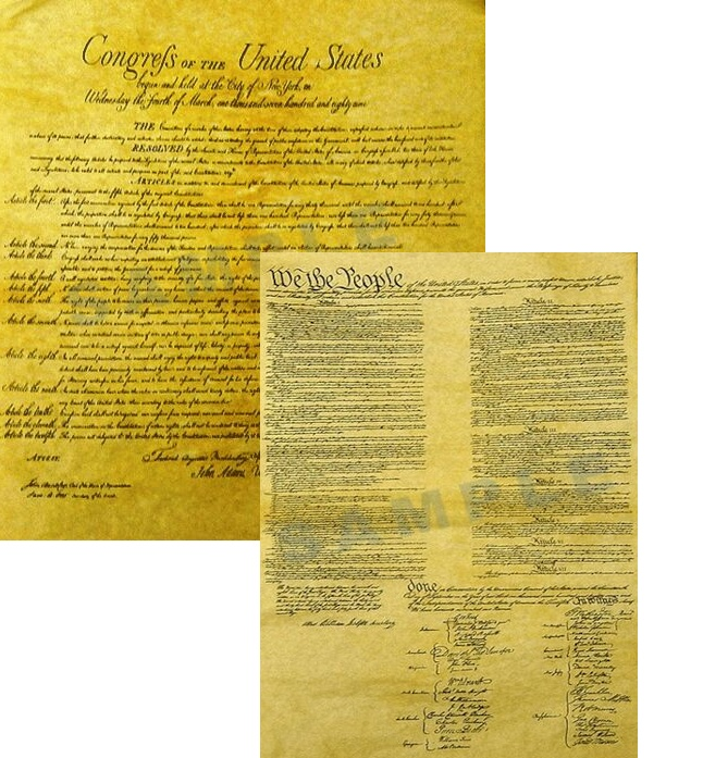 Printable U.S. Constitution and Founding Documents