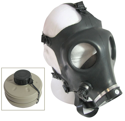 NEW ISRAELI GAS MASK WITH FILTER