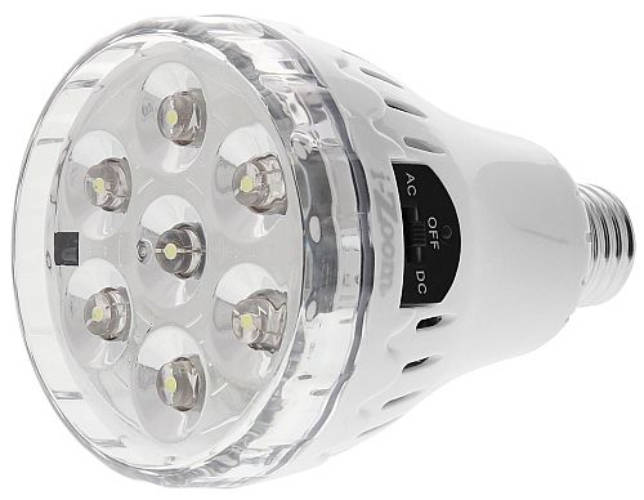 quality design f473b 26de8 AMAZING REMOTE CONTROLLED RECHARGEABLE LED BULB
