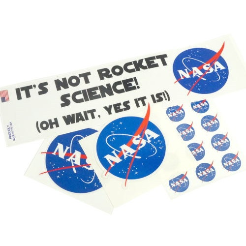 NASA Logo Stickers