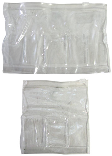 5 1 2 Clear Small Vinyl Pouches