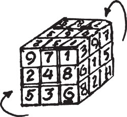 SUDOKU CUBE PUZZLES