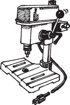 MINI COMPACT BENCH-TOP DRILL PRESS