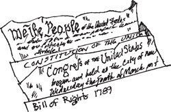 U.S. CONSTITUTION & BILL OF RIGHTS