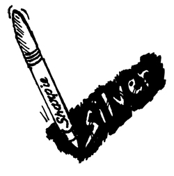 DARK SURFACE SILVER SHARPIE® MARKERS