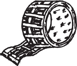 10-YARD PLAID DUCT TAPE