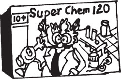 SUPER CHEM 120 CHEMISTRY SET