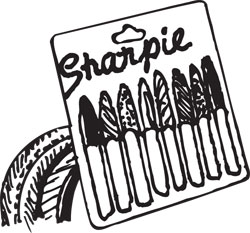 SHARPIE® FINE POINT 8 PACK