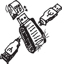 READ-WRITE FLASHCARD