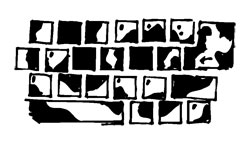 FUN KEYBOARD KEY STICKERS
