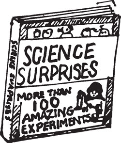 SCIENCE SURPRISES BOOK WITH EXPERIMENTS