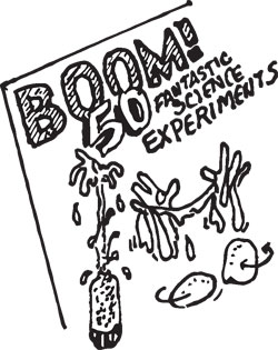 BOOM! KIDS SCIENCE EXPERIMENT BOOK