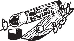 POCKET BOWLING SET