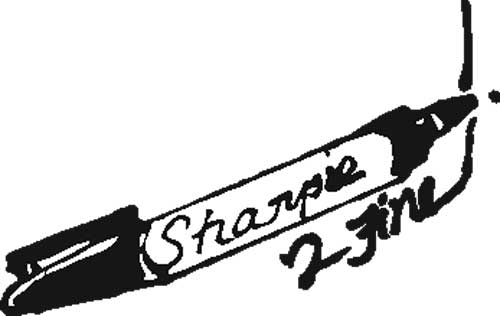FINE POINT SHARPIE®  MARKERS