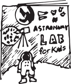 144-PAGE ASTRONOMY LAB BOOK