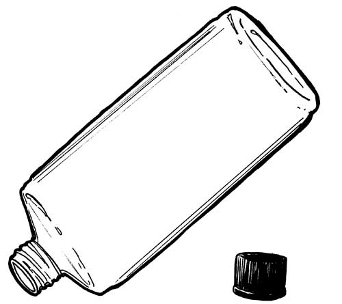 4-OZ OVAL CLEAR PLASTIC BOTTLES
