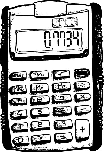 FLIP-TOP SOLAR CALCULATOR