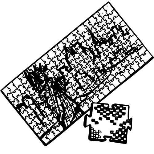 RUBIK'S PIXELATED PUZZLES
