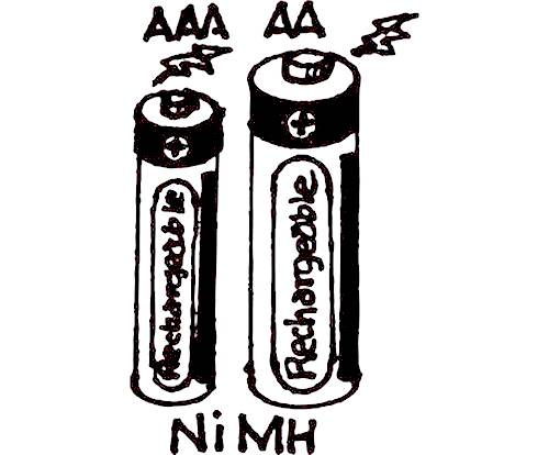 """AA"" NIMH RECHARGEABLE BATTERIES"