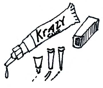 KRAZY® GLUE GEL WITH ONE-DROP TIP