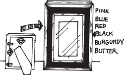 ASSORTED MAGNETIC FRAME CHARMS